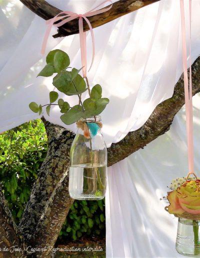 Détail décoration florale