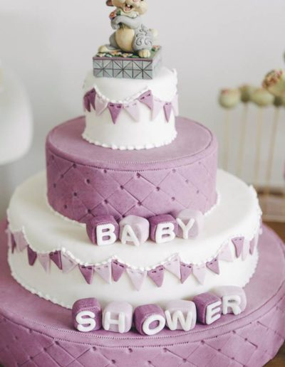 Cake design baby shower