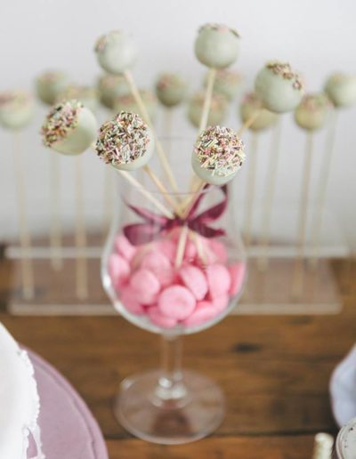 Candy bar et cake pop