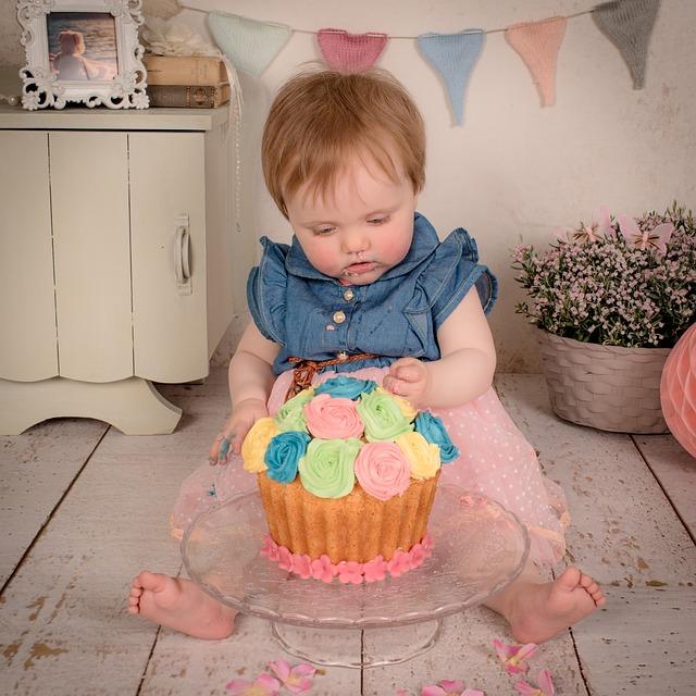 Cake smash & scénographie pour photo Youli Event designer auvergne