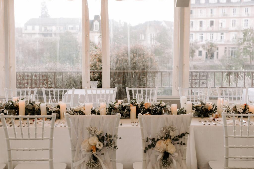Scénographie et décoration mariage auvergne
