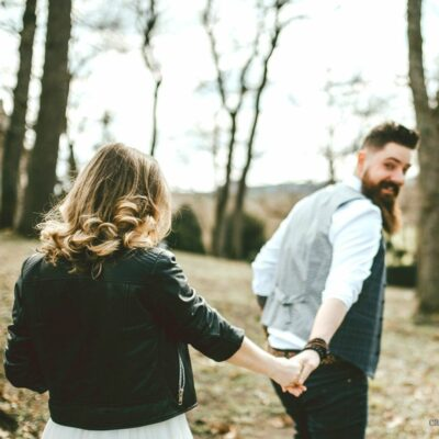 photo couple mariage manteau cuir