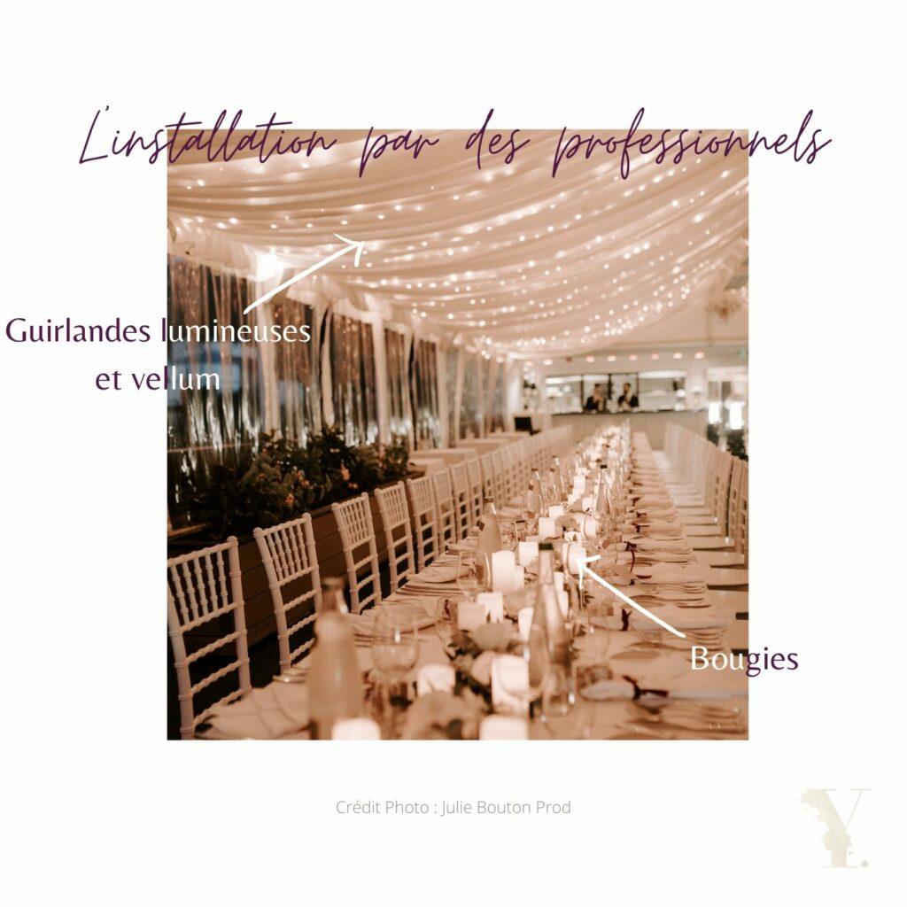 table de mariage raffinée youli wedding esigner