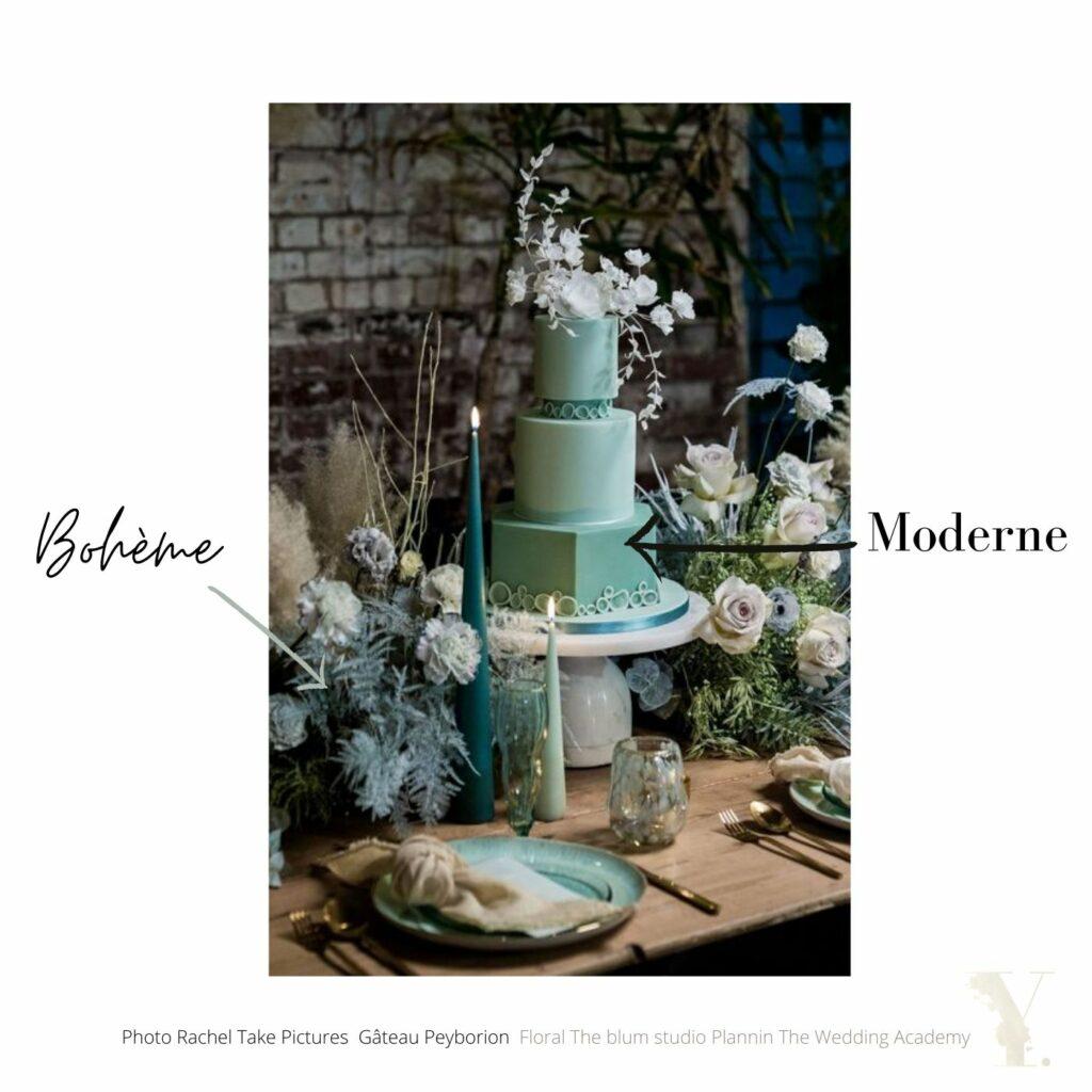 Table et weddingcake MOHO