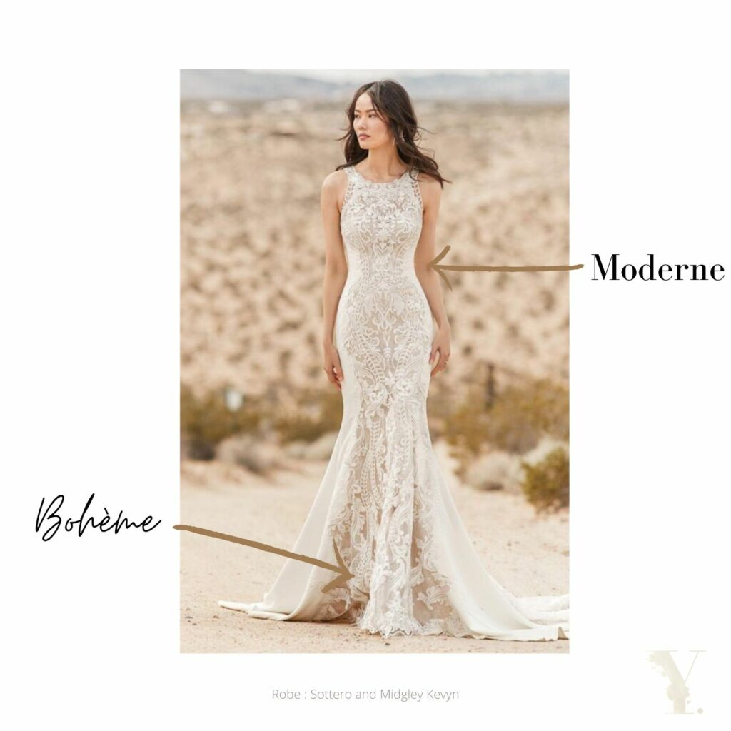 Robe de mariée inspiration MOHO