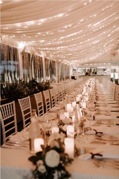 Prestation wedding design végétal raffiné