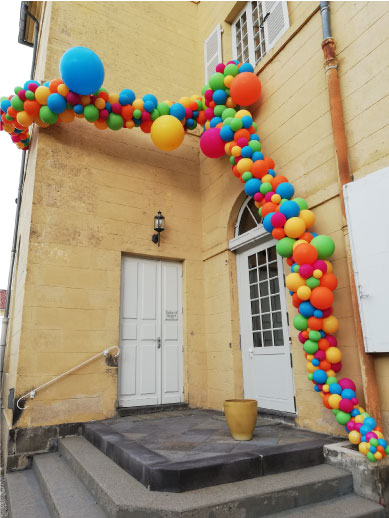 arche ballon extérieur event design