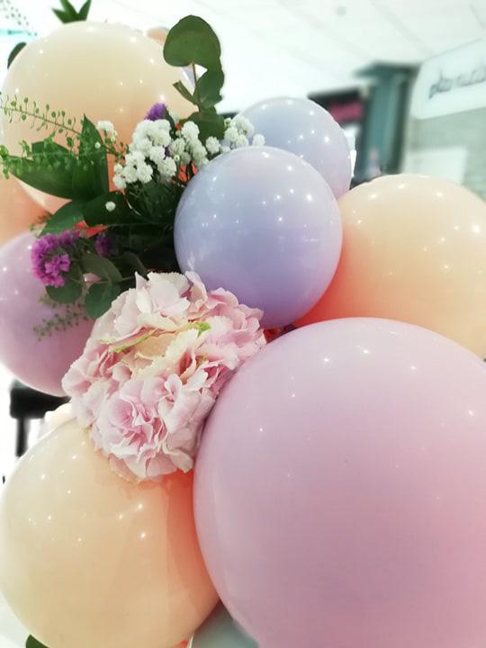 arche ballon fleurs event design