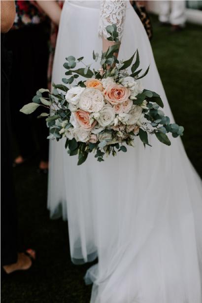 bouquet mariage raffiné végétal
