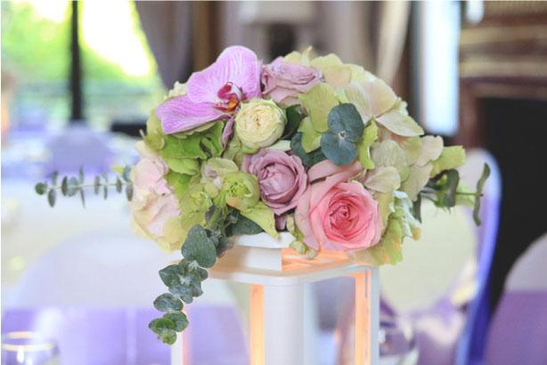décoration centre table mariage auvergne