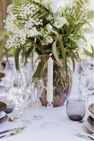 décoration de table mariage raffinée