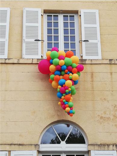 décoration façade bâtiment event design