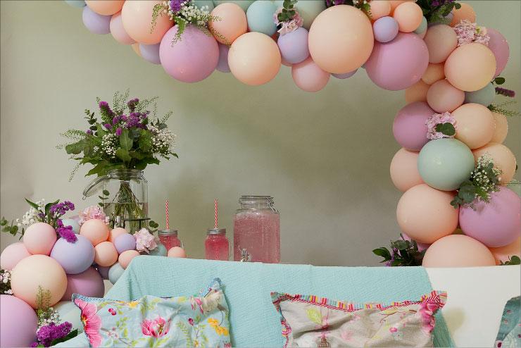 décoration fête des mères la rotonde Ceyrat