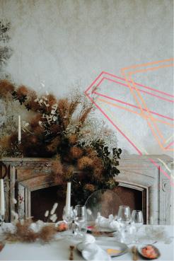 décoration mariage anamorphose