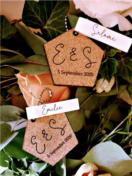 décoration mariage liège personnalisé