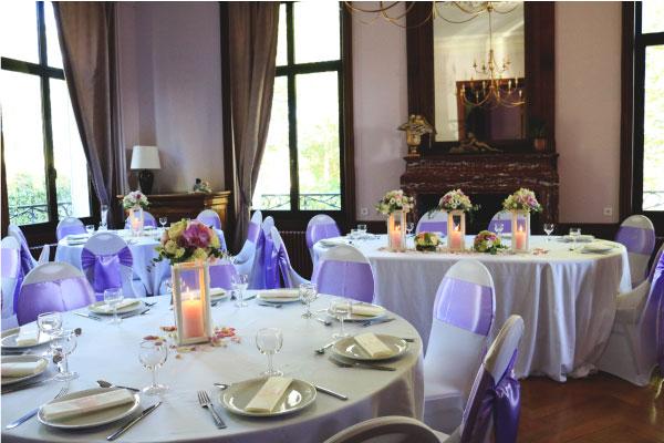 décoration salle design manoir Issoire