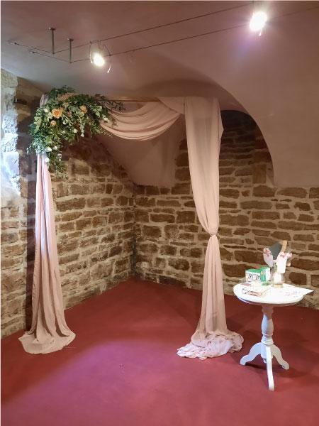 décoration salle Rhône beaujolais