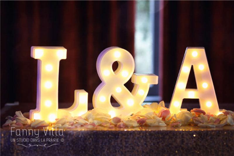 décoration table mariage auvergne Rhône alpes