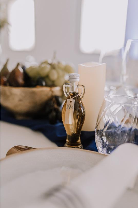 décoration table mariage design Grèce