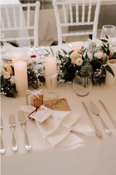 décoration table mariage raffiné