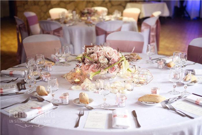 design art de la table mariage Clermont Ferrand