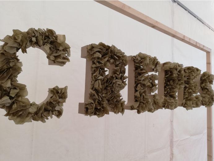 détail scénographie florale event designer auvergne