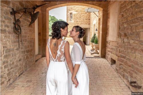 mariage domaine viticole Rhône