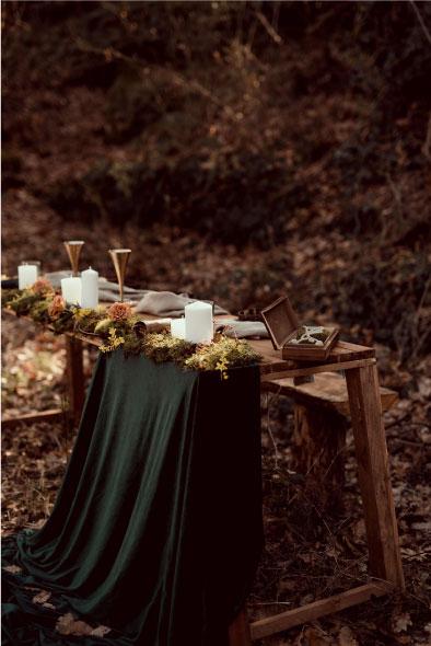 photo décoration mariage thème viking