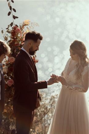 photo mariage thème automne