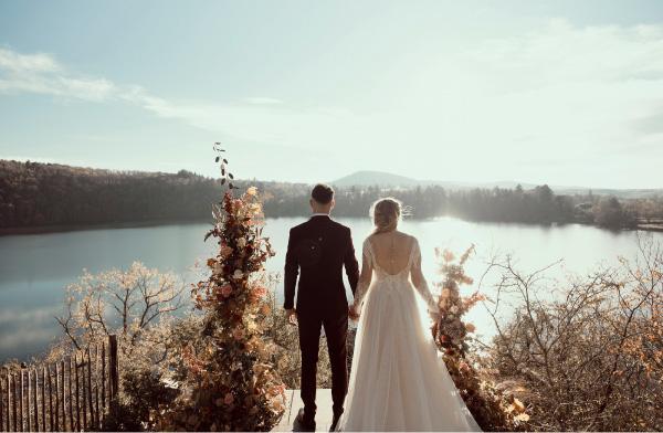 photos décoration mariage automne