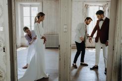 photos essai tenues mariés