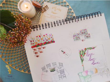 prestation wedding design Puy de dôme