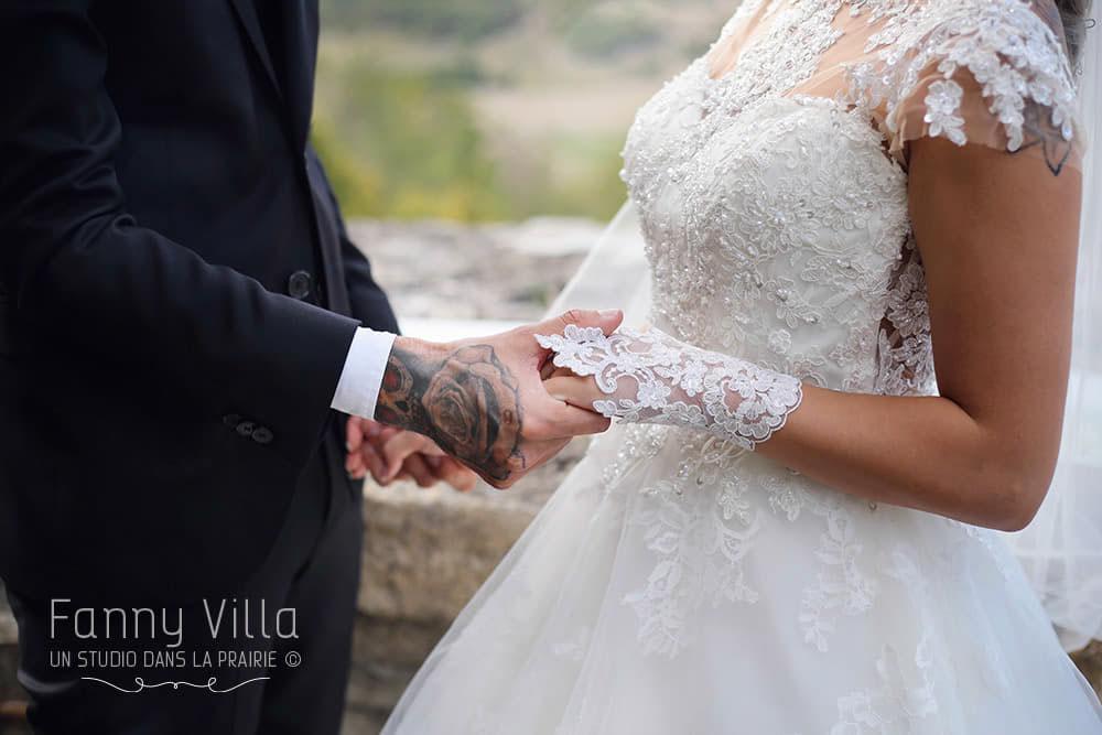 robe mariage dentelle gant auvergne