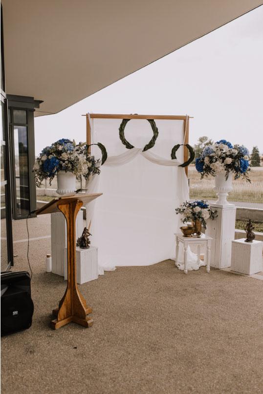 scénographie cérémonie mariage Grèce antique