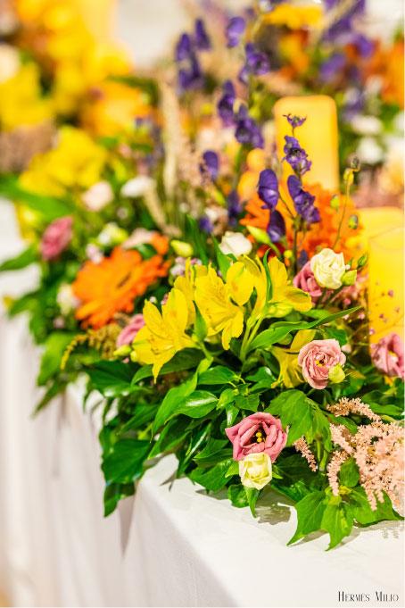 scénographie design floral