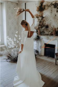 shooting robe mariée graphique