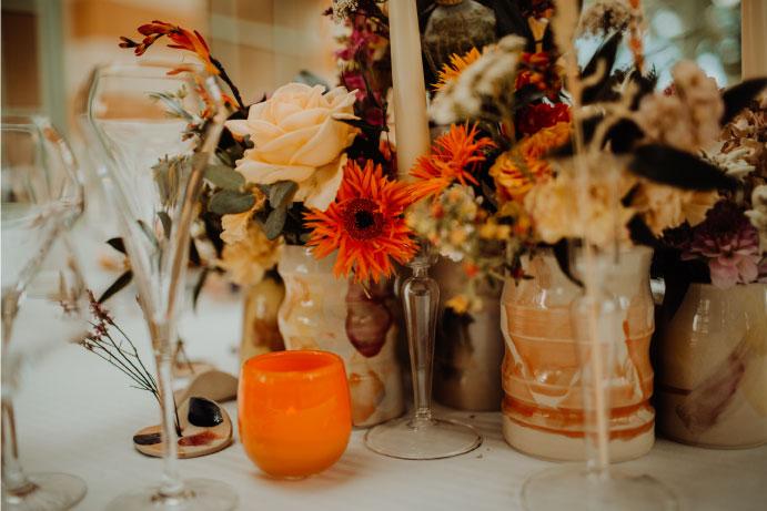 composition floral peps