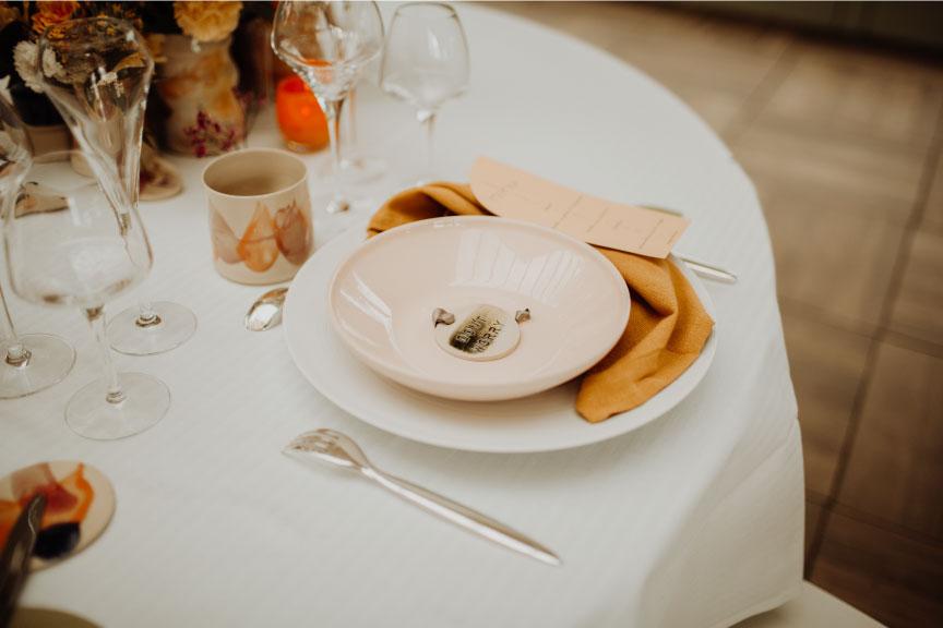 déco table mariage céramique auvergne