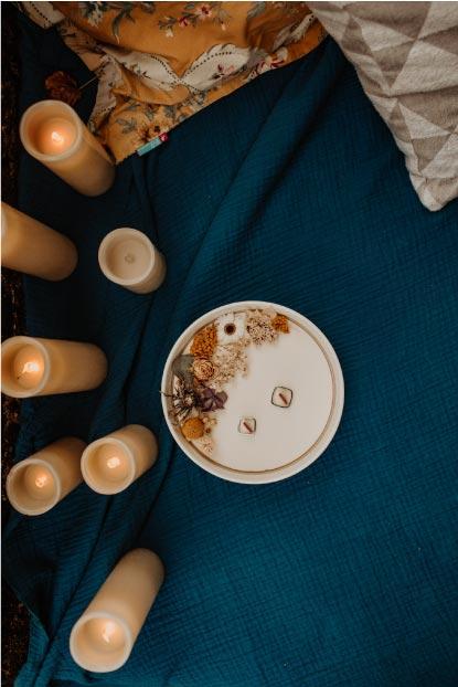 idée décoration mariage thème bleu
