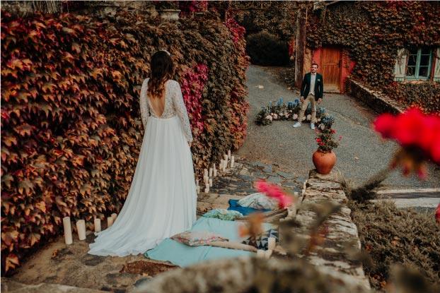 idée thème mariage bleu