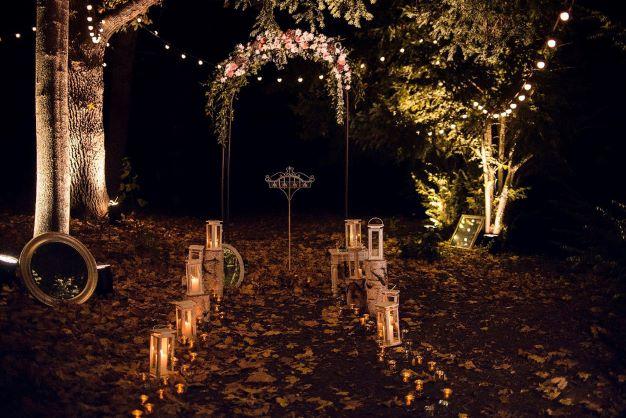 photo décoration mariage thème alice pays merveilles