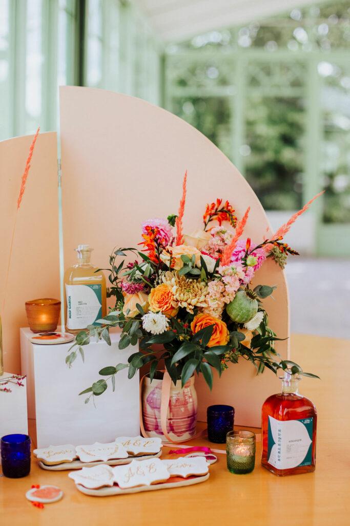 photos cadeaux invites fait main mariage