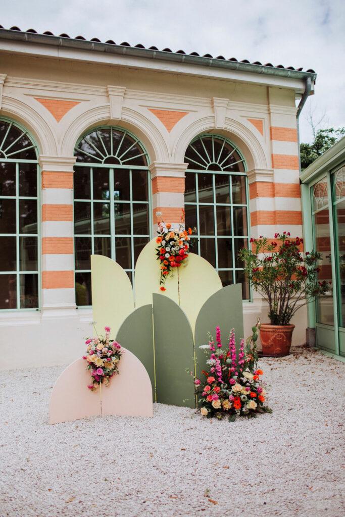 photos décoration mariage couleurs