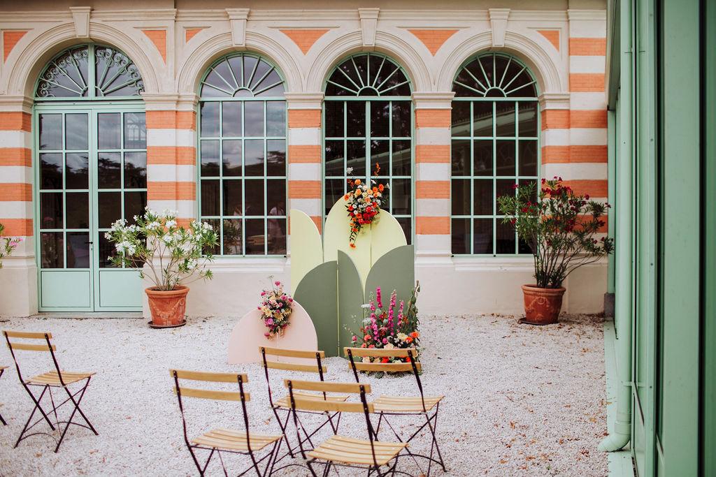 scénographie décoration thème couleurs