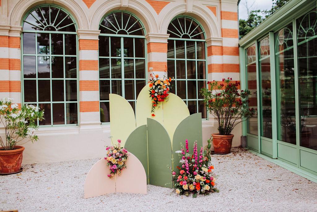 shooting décoration mariage thème fait main