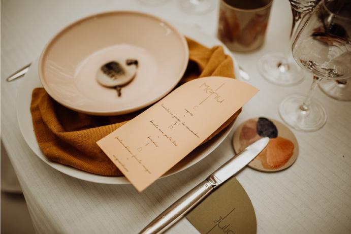 vaisselle mariage céramique